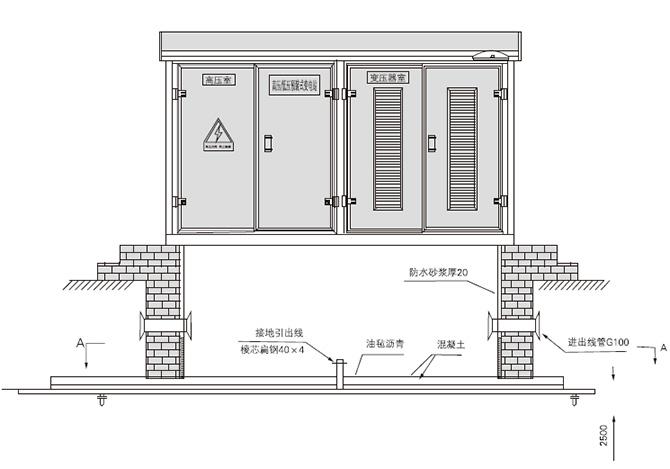 电源设备 其它 浙江康良电力设备有限公司 箱式变电站 欧式箱式变电站图片